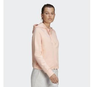 Adidas Wmn's Stacked Full-Zip Fleece Hoodie