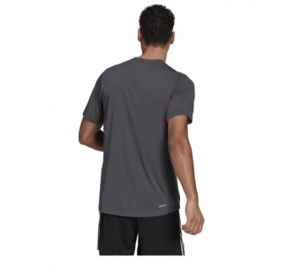 Adidas Aeroready Designed 2 Move Feel Ready Sport Logo T-Shirt