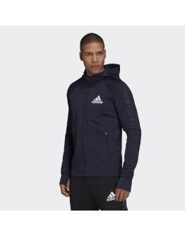Adidas Aeroready Designed To Move Full-Zip Hoodie