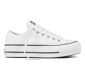 CONVERSE - Chuck Taylor All Star Platform Canvas Low Top