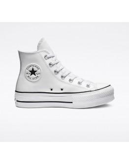 CONVERSE - Chuck Taylor All Star Platform Leather High-Top
