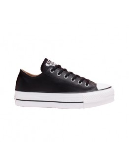 CONVERSE - Chuck Taylor All Star Platform Clean Leather Low-Top