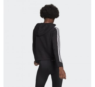 Adidas Essentials 3-Stripes Cropped Wmn's Hoodie