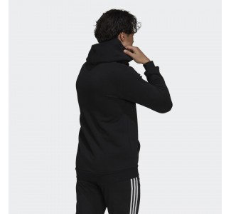 Adidas Essentials Fleece Camo-Print Hoodie