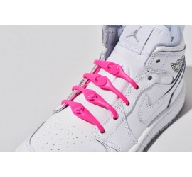Hickies 2.0 Kid's Pink Laces