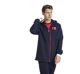Puma Men's Rebel Block Full Zip Fleece