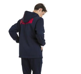 Puma Men's Rebel Block Full Zip Fleece