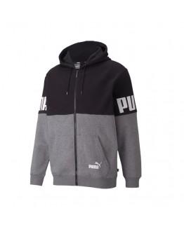 Puma Power Colorblock Full-Zip Hoodie