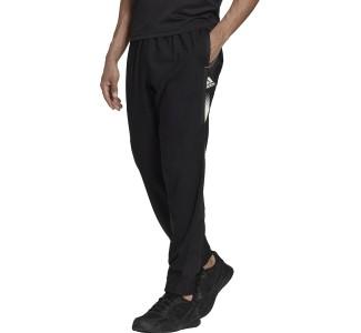Adidas Aeroready Designed Move Sport Παντελόνι Φόρμας με Λάστιχο Μαύρο